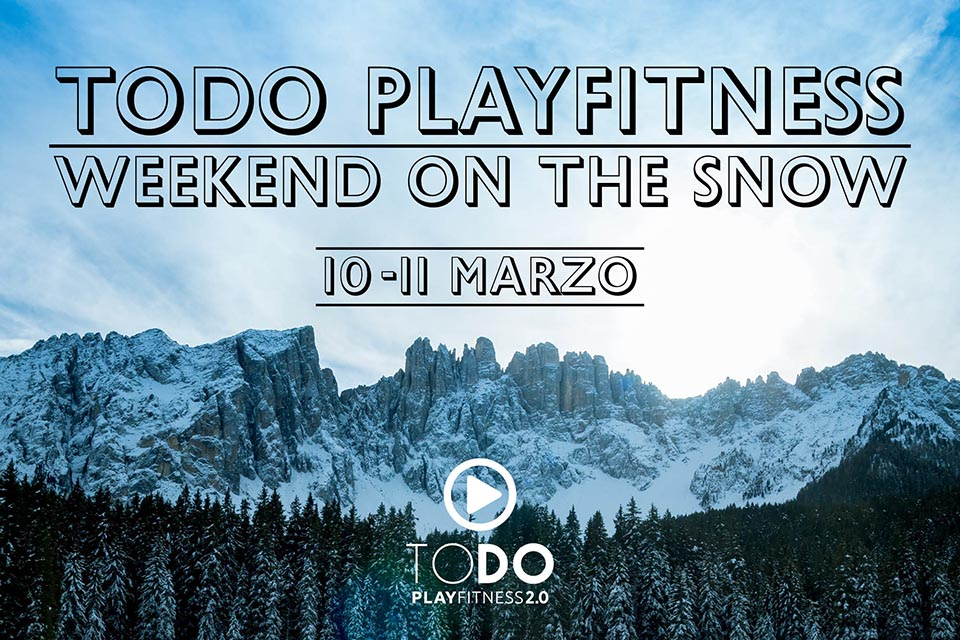 Todo Playfitness Weekend on the Snow