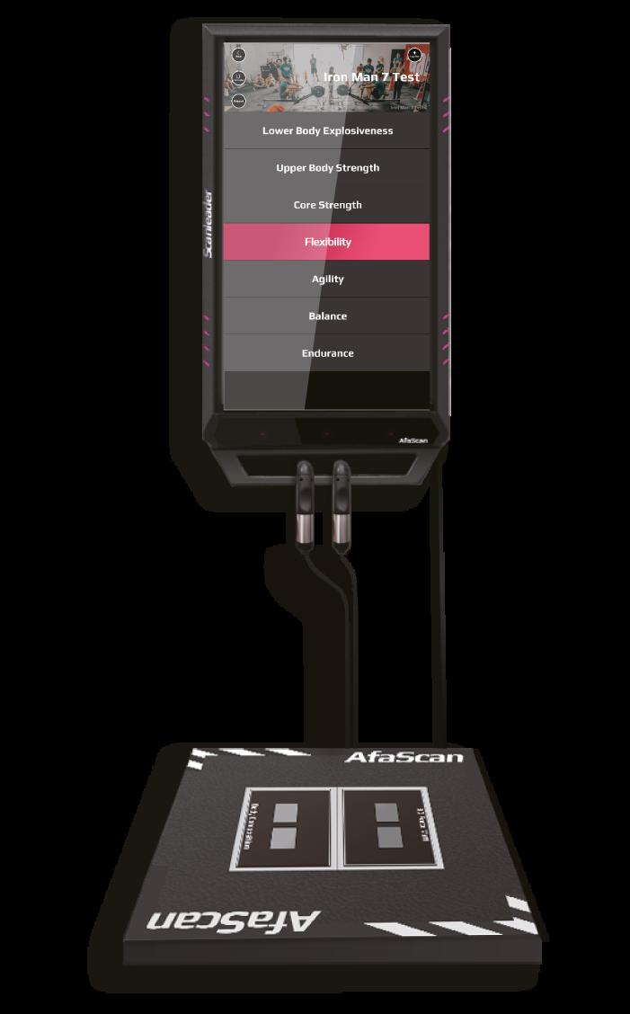 Scanleader lo scanner che analizza la condizione fitness Todo Playfitness